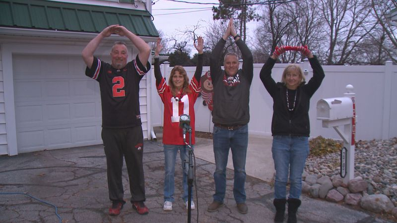 Buckeye watch parties will be much smaller this year during the College Football National...