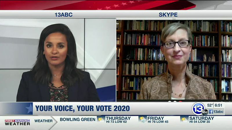 Dr. Melissa Miller speaks about Russia, Iran gaining access to US voter records