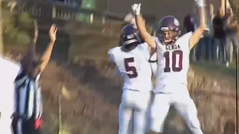 The Genoa Comets football team defeated Rossford 14-9 on Sept. 10, 2021.