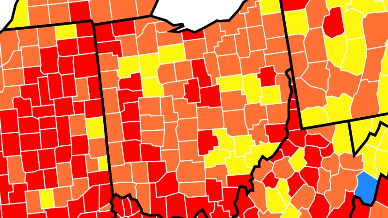The Centers for Disease and Control now recommends most Northwest Ohio residents wear a mask...