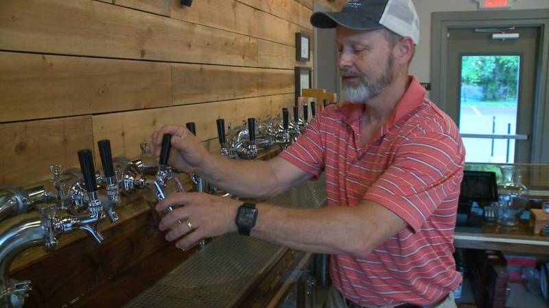 Buffalo Rock Brewing Company just opened on the Anthony Wayne Trail in Waterville.