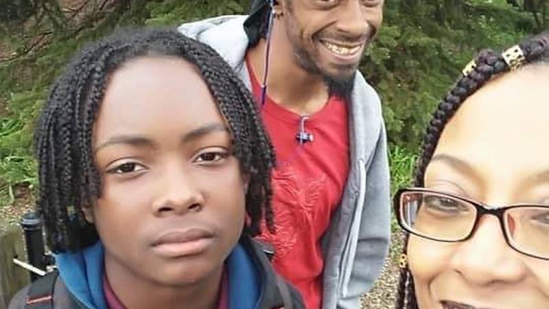 Stephon Johnson along side his parents Jorrel and Lisa. Johnson, 17, was shot and killed at a...