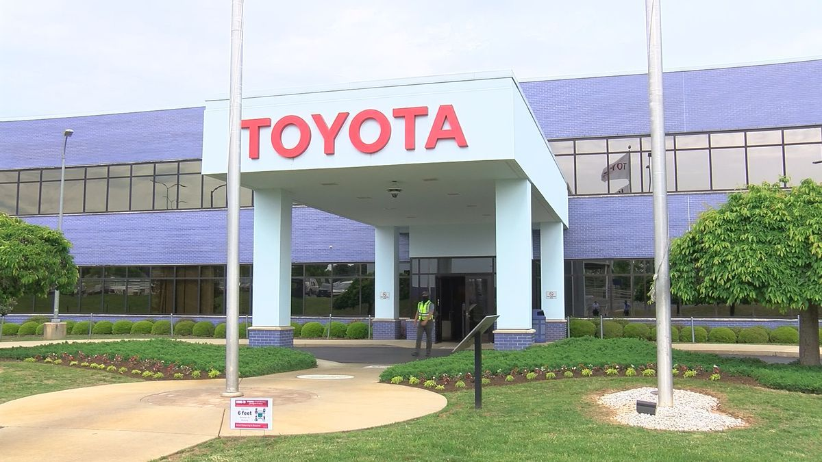 The Toyota engine plant in Huntsville, Alabama. Toyota is recalling about 752,000 gas-electric...
