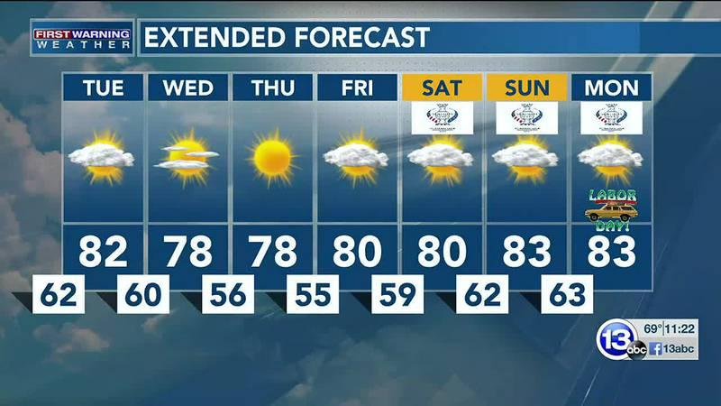 8/30/21: Jay Berschback's 11pm Forecast