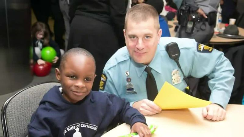 TPD Sgt. Joe Okos founded the 12 Kids of Christmas program which teams up with local agencies...