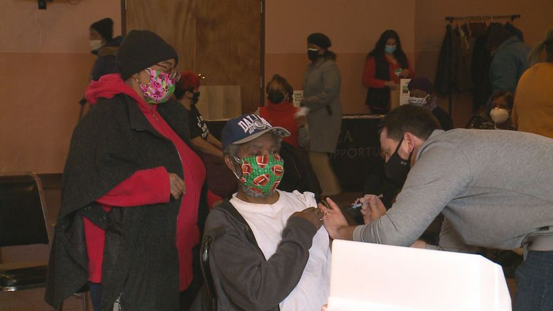 More Lucas County residents are rolling up their sleeves for the Covid-19 vaccine. Hundreds...