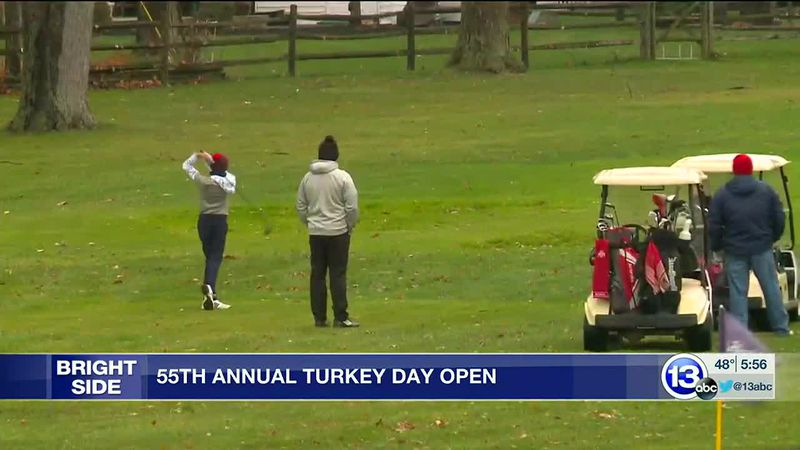 Turkey Day Open rasies money for charity