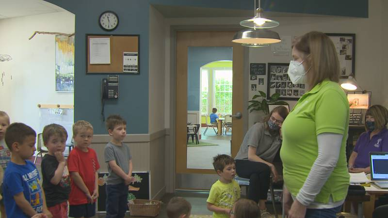 Child care facilities are in need of staff as the demand for help from families rises.