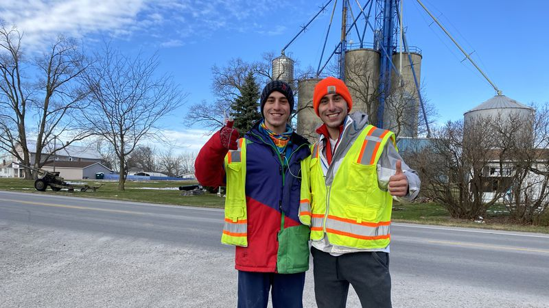 The Prizant brothers from Youngstown are traveling 300,000 miles across the country to raise...