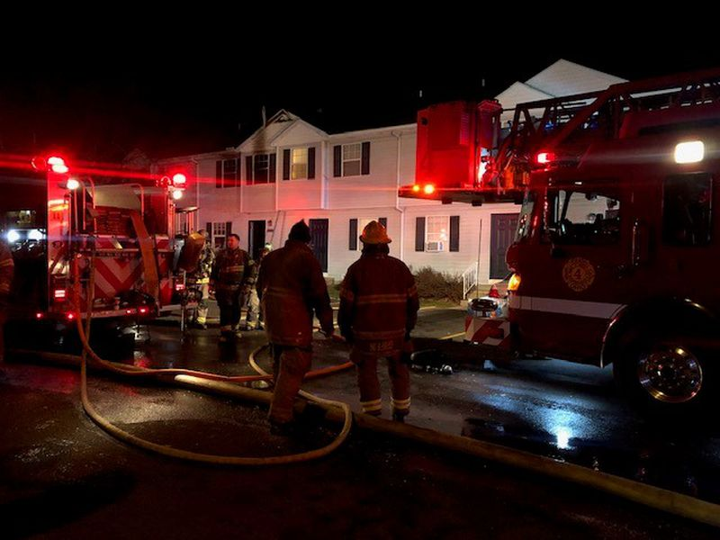 Canyon Cove Villas and Townhomes caught fire in Toledo. No one was hurt.