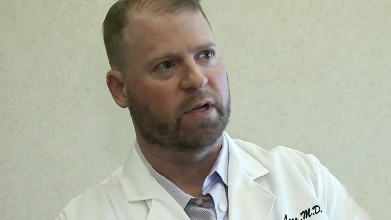 Dr. Jason Loos, a pathologist at Covenant Health, recently caught the delta variant, a much...