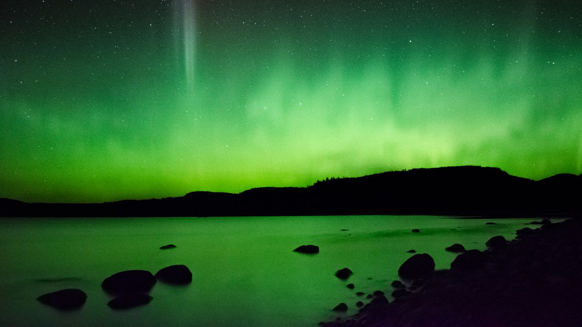 Solar storms can bring beautiful auroras to much more southern locations than would normally...