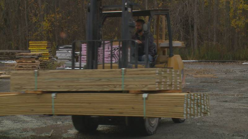 The price of lumber skyrocketed in May and June. It's beginning to return to normal but it's...
