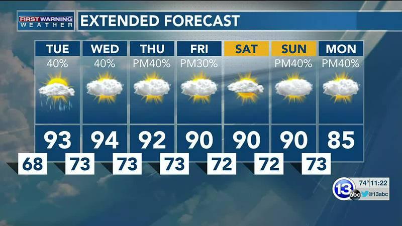 8/23/21:  Jay Berschback's 11pm Forecast