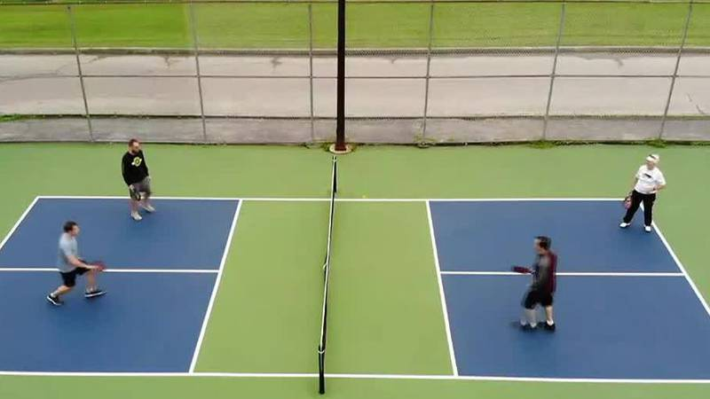Pickleball courts in Rossford open to the public.