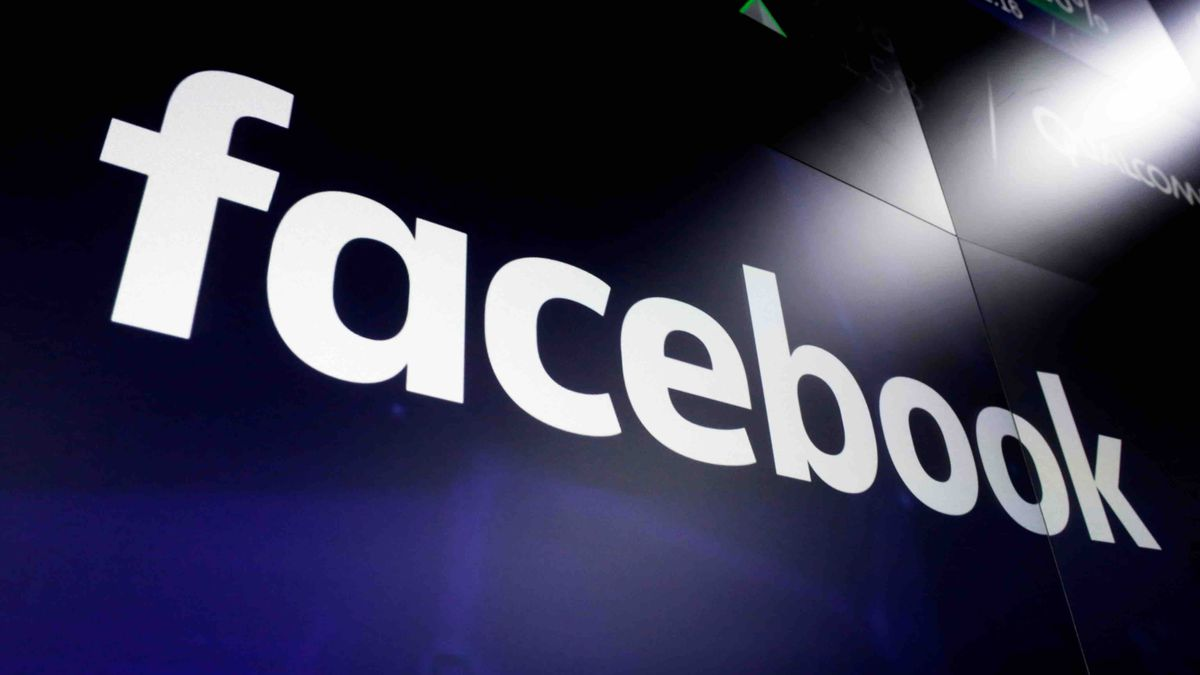 FILE - In this file photo dated March 29, 2018,  the logo for social media giant Facebook,...