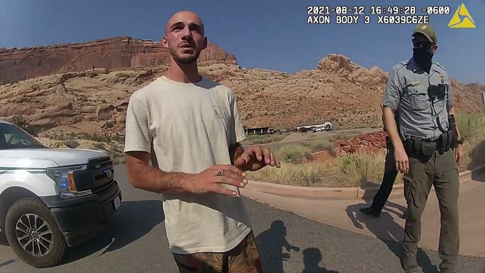 Police video from Moab, Utah, shows 22-year-old Gabby Petito argued with her boyfriend Brian...