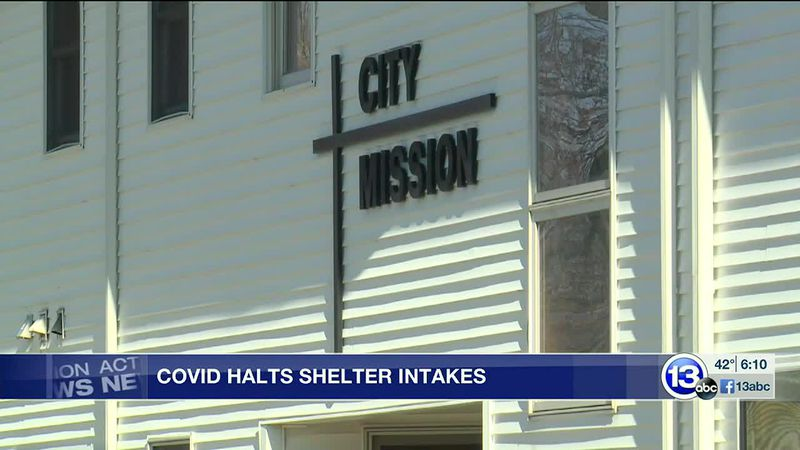 City Mission halts intakes due to COVID-19 cases