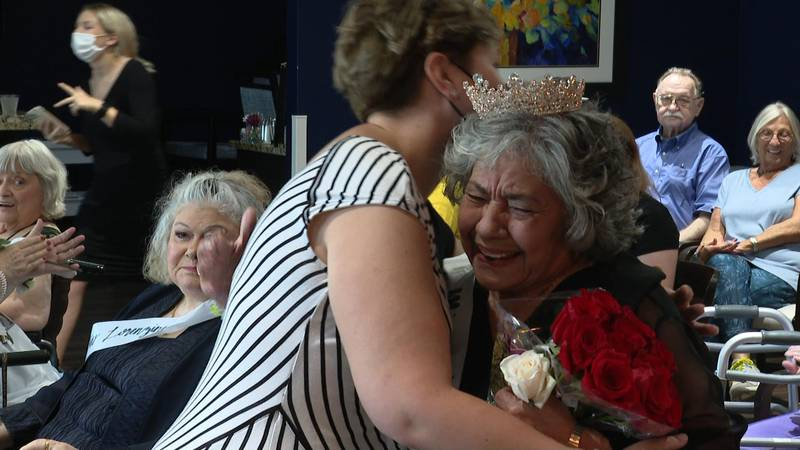 The pageant was held at StoryPoint Senior Living Community in Waterville.