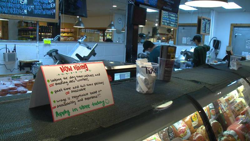 Monnettes Market is one of many businesses trying to find employees to work