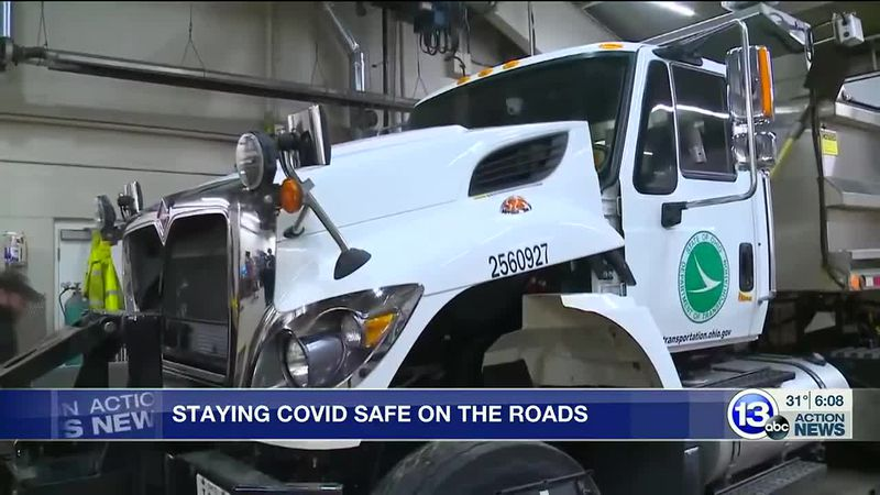Road crews work to keep highways and their staff safe