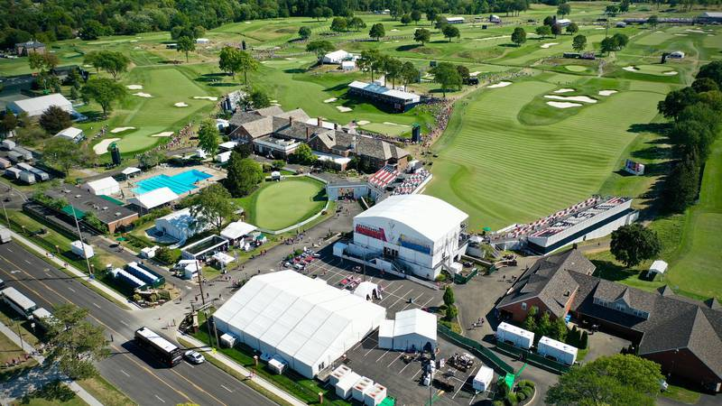 The Solheim Cup at Inverness Golf Club in Toledo, Ohio, Sept. 6, 2021.