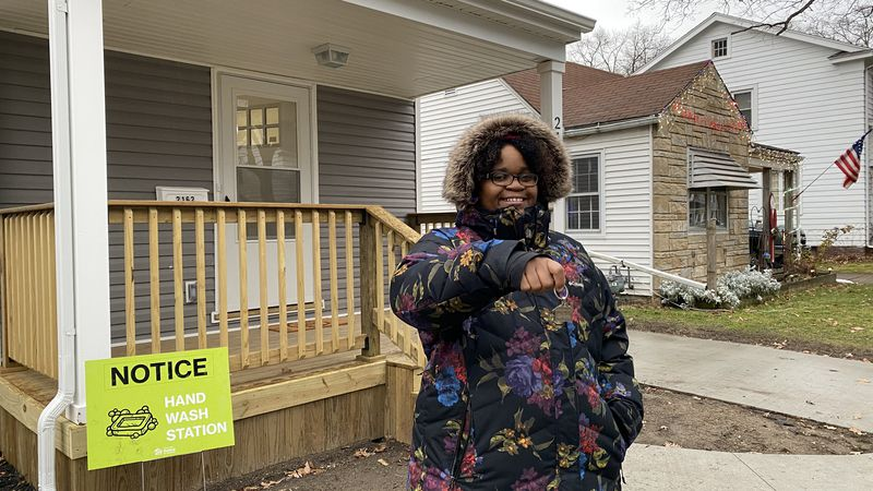 Several Toledo women got the chance to start a new chapter in their lives In the new homes they...