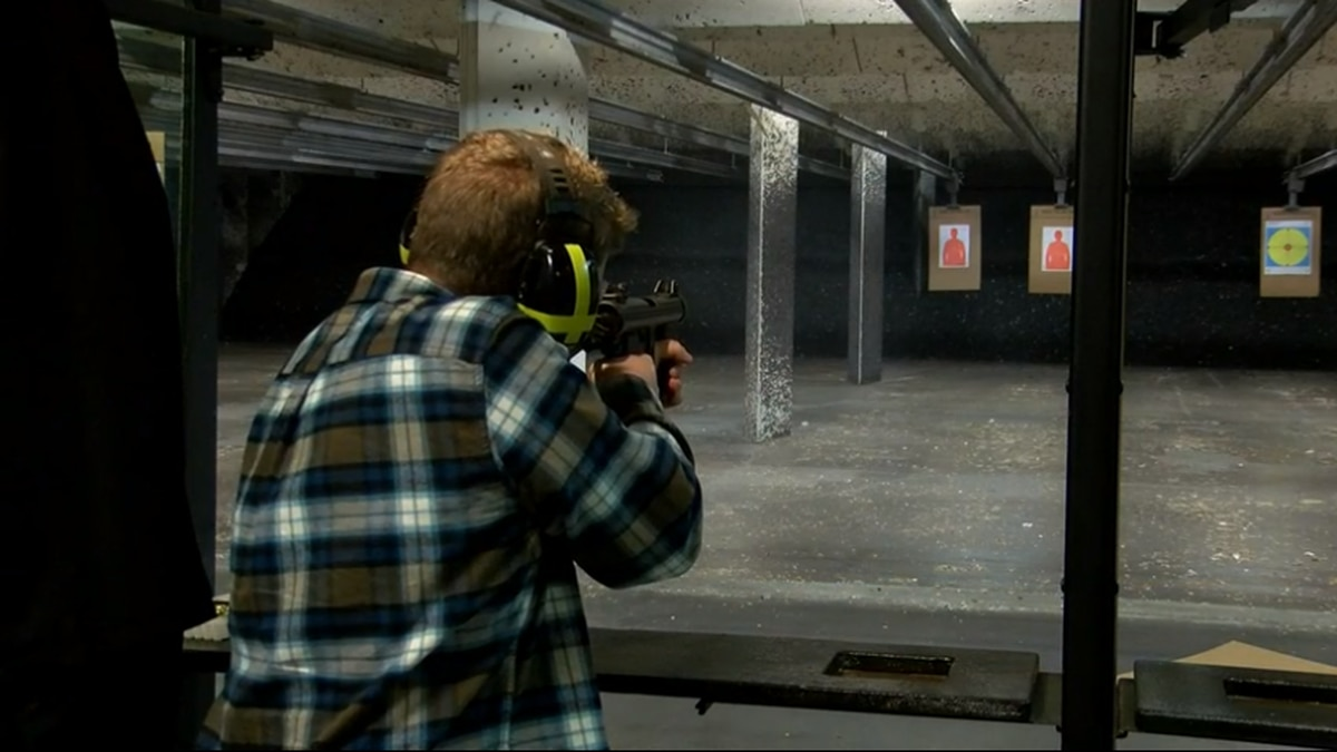 A group is opposing a proposed indoor gun range on W. Sylvania Ave. This photo is of an indoor...