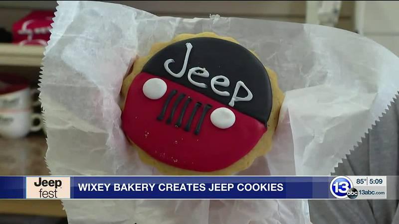 Wixey Bakery Creates Jeep Cookies