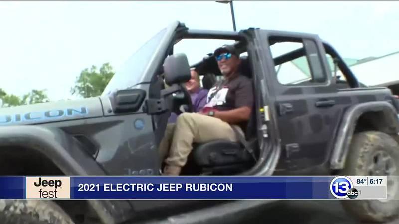 2021 Electric Jeep Rubicon