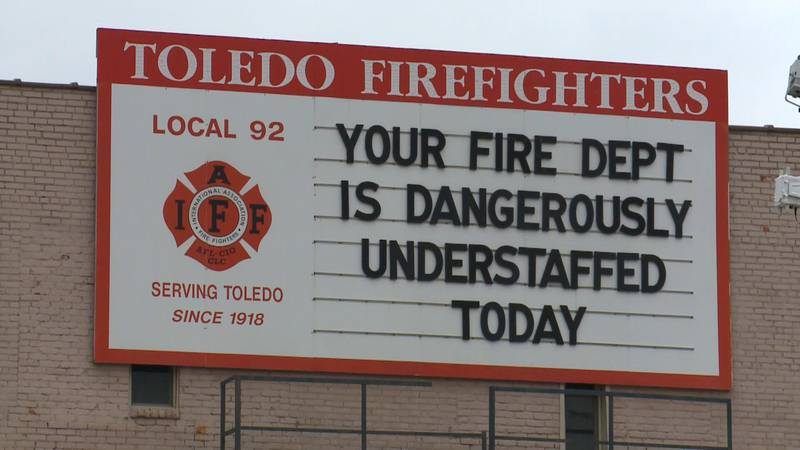"""The Toledo Firefighters Union publicly claims to be """"dangerously understaffed."""""""