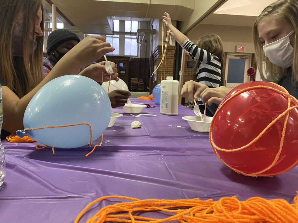 SYML offers teens the opportunity to express their creativity through weekly projects.