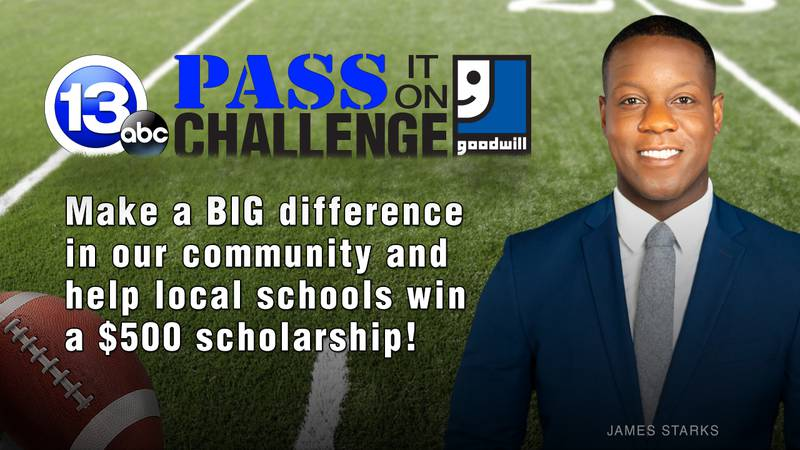 The school that has collected the most weight from donations by game day will be announced as...