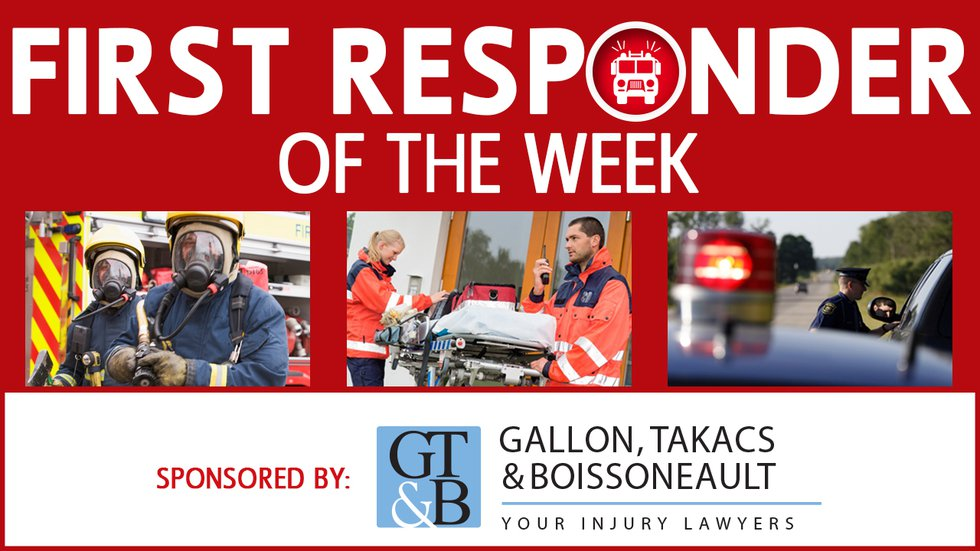 Nominate a First Responder you admire for our weekly series.