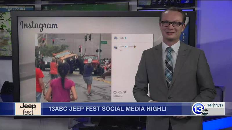13abc Jeep Fest Digital Highlights