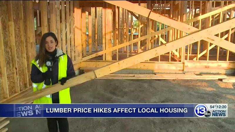 Builders Face Lumber Crisis, Hitting  Affordable Housing