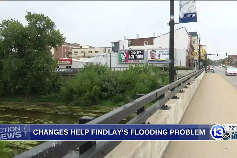 Mayor says they aren't too concerned about flooding