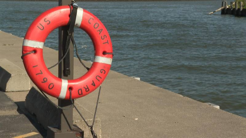Experts say if you're going swimming, always have a flotation device nearby.