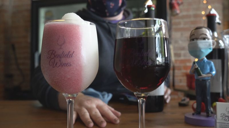 Benfield Wines in Swanton is part of the business boom on Main Street.