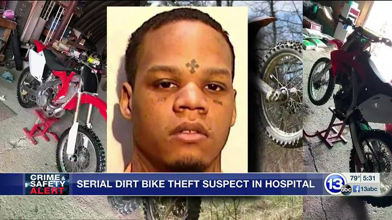 He's accused of meeting sellers on Facebook Marketplace, then riding off on their dirt bikes...