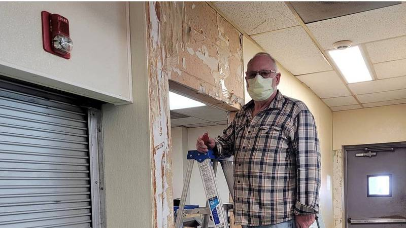 After weeks of renovations, staff with St. Paul's Community Center and Shelter in Downtown...