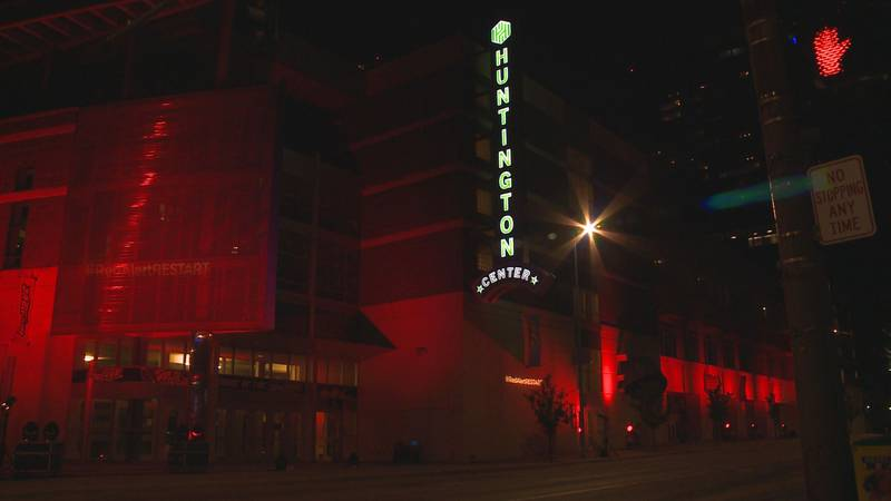Live event centers banned together to light up their buildings in red to alert government...