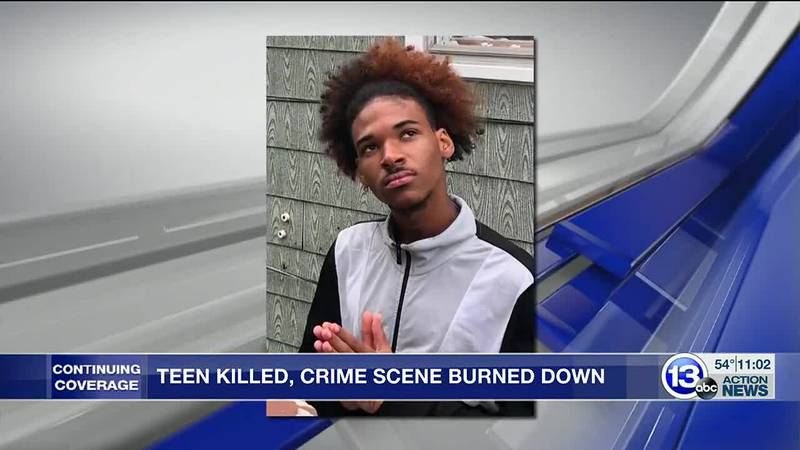 18-year-old Davon Butler was shot and killed by Marvin Dyer, the scene of the crime was burned...