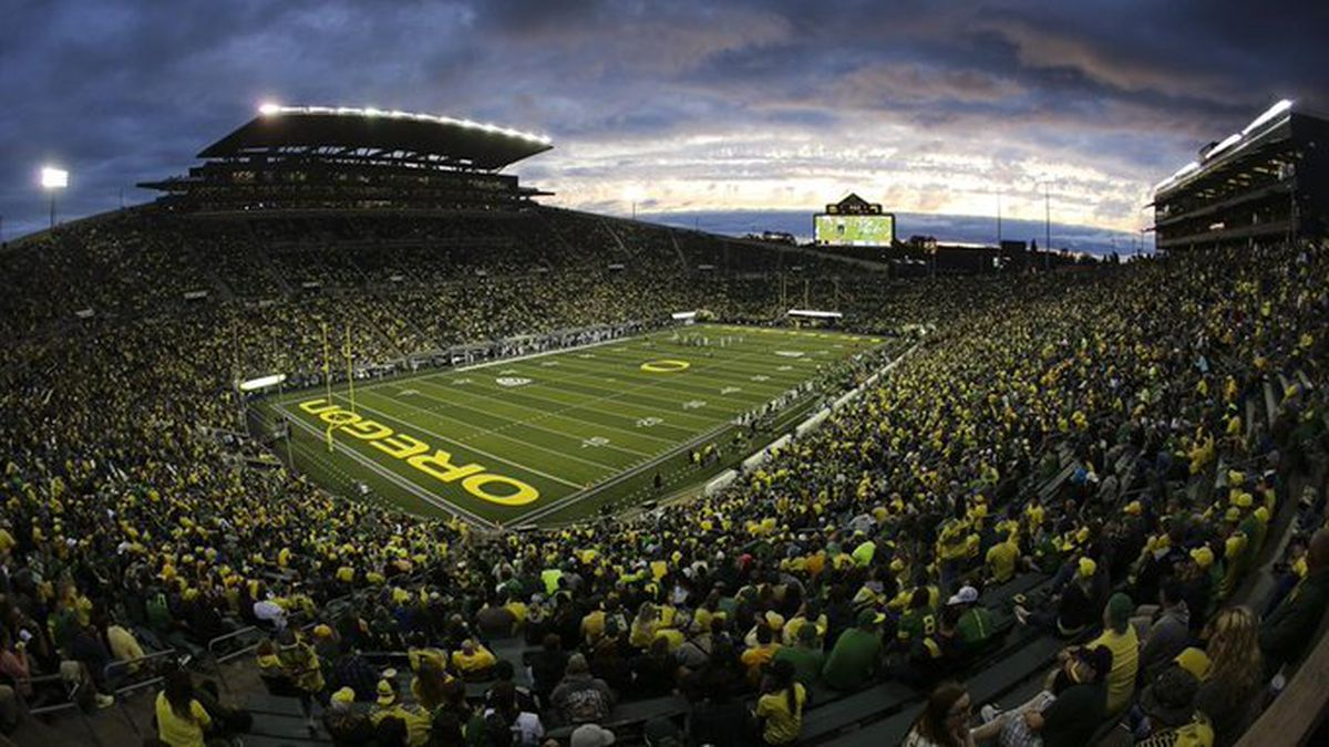 The move to drop the 'Civil War' name for rivalry was made after discussions between officials at both schools and current and former student-athletes.(Source: University of Oregon)