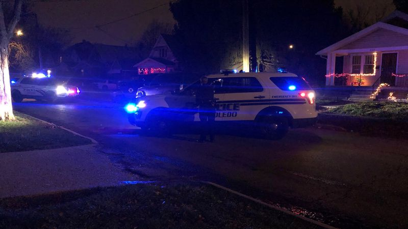 A man is in the hospital after a shooting near Hudson and Elm.