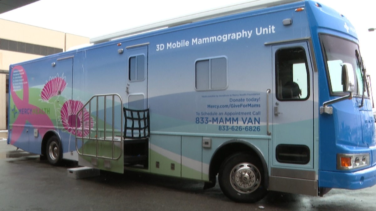 Mercy Health Announces Region's First Mobile Mammography Unit