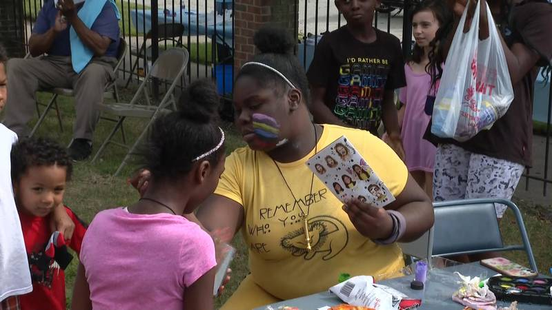 The church held a community day to help the community come together.