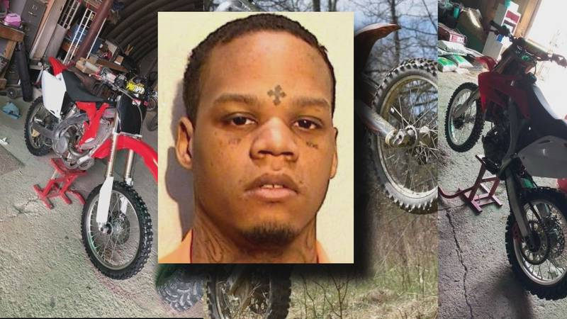 Devonte Pride is accused of stealing several dirt bikes and ATVs after arranging to meet...