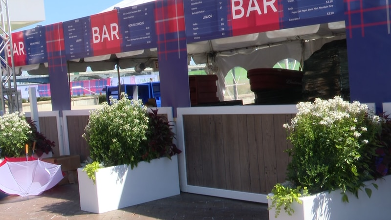 Mager Designs did all of the design work for Fan Fest and Solheim