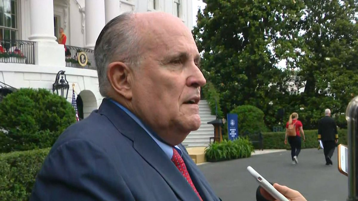 Rudy Giuliani, President Donald Trump's lawyer, is a conduit for Russian misinformation, White House officials reportedly were warned.